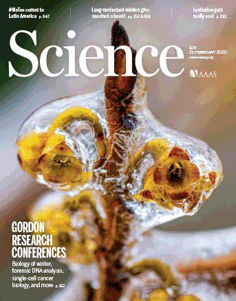 《科学》(20200221出版)一周论文导读